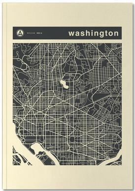 City Maps Series 3 - Washington -Notizheft