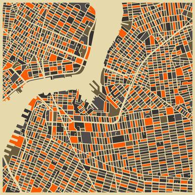 Brooklyn Aluminium Print