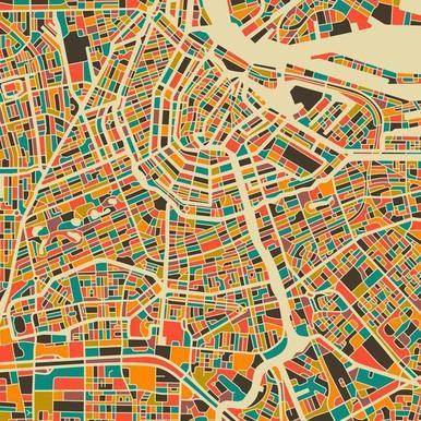 Amsterdam canvas doek