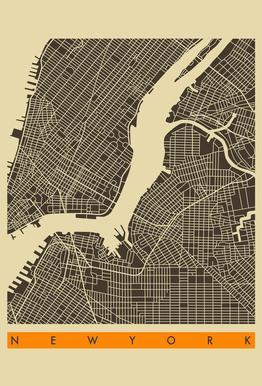 New York II Acrylic Print
