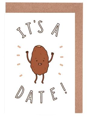 It's a Date Greeting Card Set