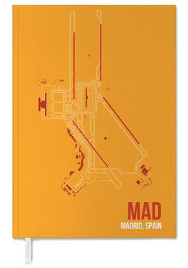MAD Airport Madrid Personal Planner