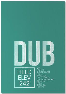 DUB Dublin bloc-notes