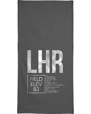 LHR London -Handtuch
