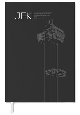 JFK New York Tower Black -Terminplaner