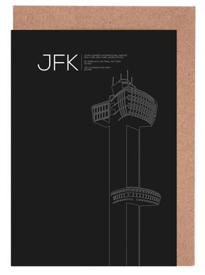 JFK New York Tower Black