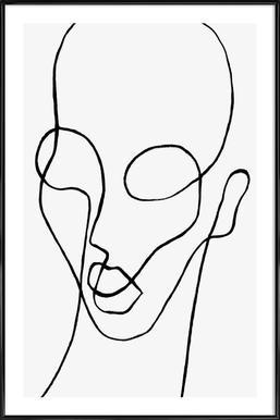 Shaperalito - Poster in kunststof lijst