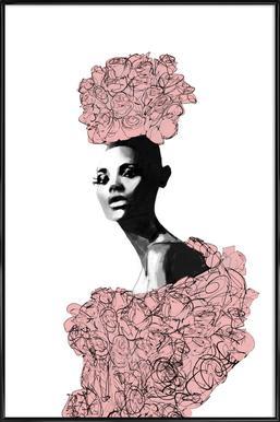 Katie Rose - Poster in kunststof lijst