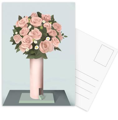 Bouquet Postcard Set