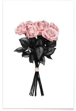 Pink Bouquet -Poster