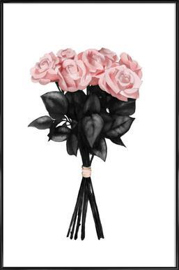 Pink Bouquet ingelijste poster