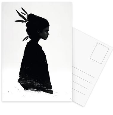 Never Never Postcard Set