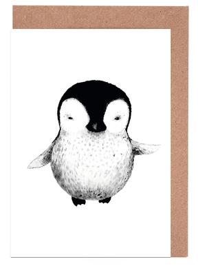 Penguin Greeting Card Set