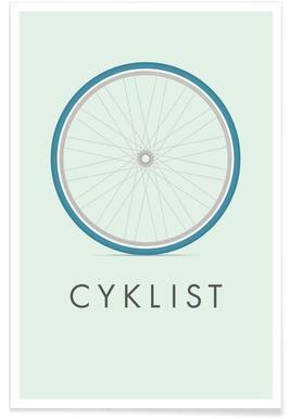 Cyklist affiche