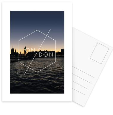 London Postcard Set