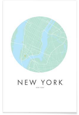 Metropolitan - New York Poster