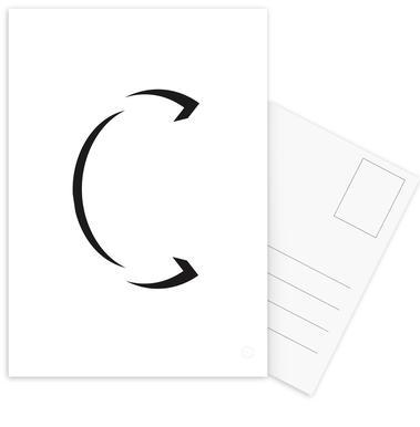 Alpha - C Postcard Set
