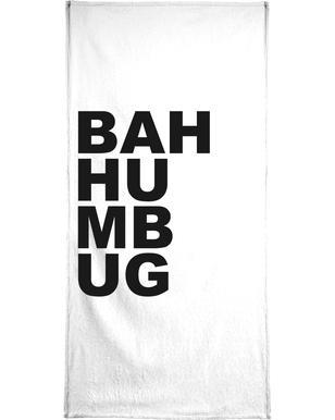 Bah Humbug Bath Towel