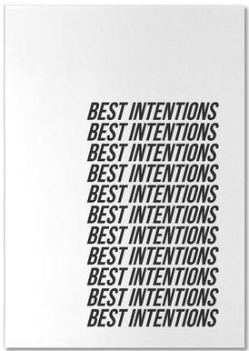 best intentions bloc-notes