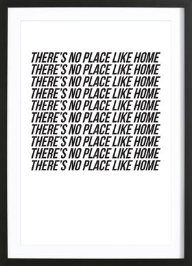 theres no place like home Framed Print