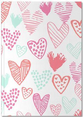 Valentines Pretty Notebook