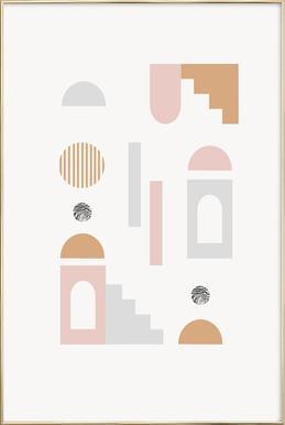 Achima Poster in Aluminium Frame
