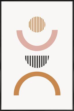 Chrysanthe Framed Poster
