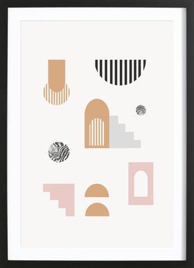 Elektra Framed Print