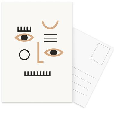 Pleione Postcard Set