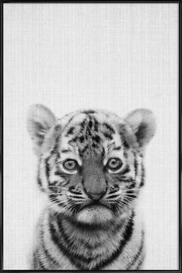 Print 43 -Bild mit Kunststoffrahmen