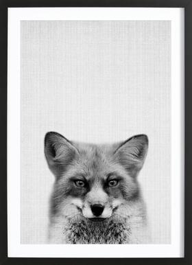 Print 47 - Poster in Wooden Frame
