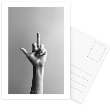 Signs  02 cartes postales