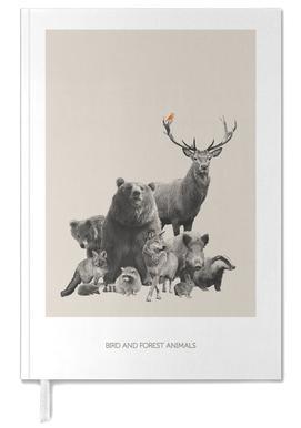 Bird And Forest Animals -Terminplaner