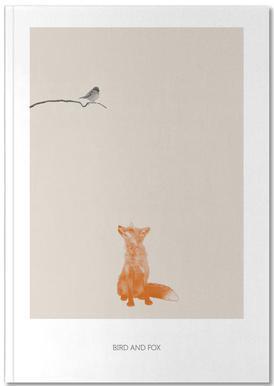 Bird And Fox carnet de notes