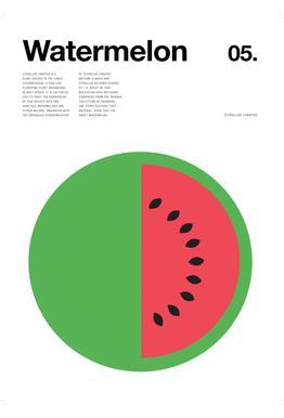 Watermelon Aluminium Print