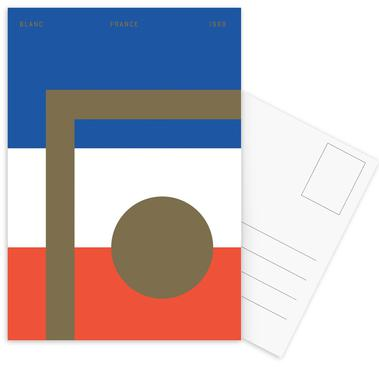 Blanc Postcard Set