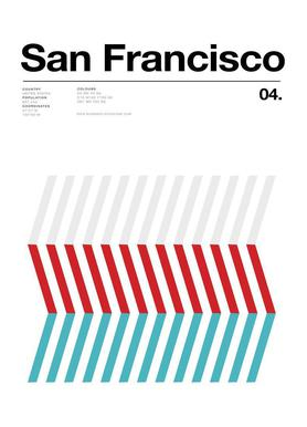 San Fran toile