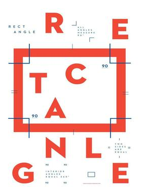 Rectangle toile