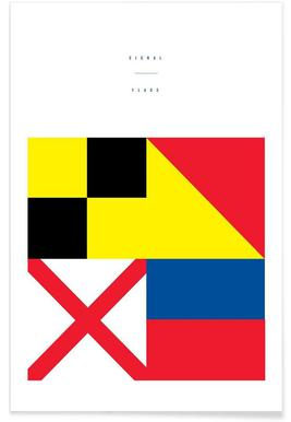 Signal Flags 2 affiche