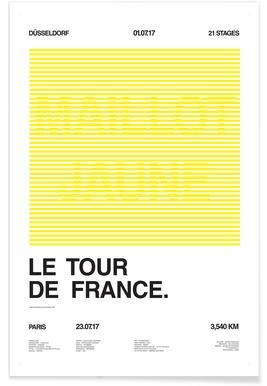 Maillot Jaune - Premium Poster