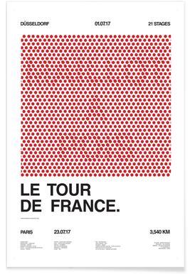 Maillot à Pois Poster