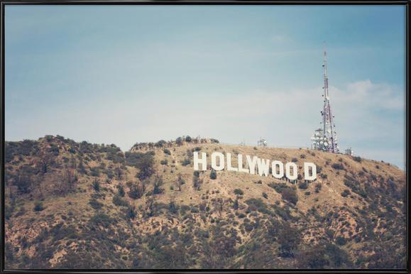 Hollywood Framed Poster
