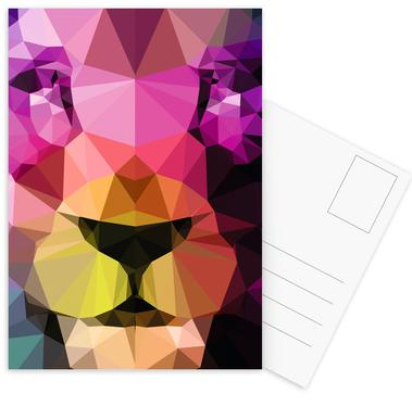 Wild Neon 01a Postcard Set