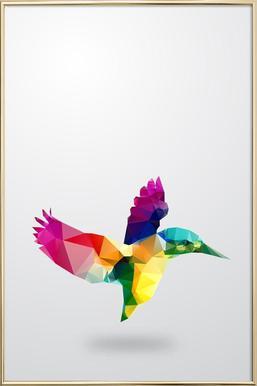 Glass Animals - Bird Poster in Aluminium Frame