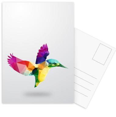 Glass Animals - Bird Postcard Set