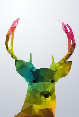 Crystal Deer Acrylic Print
