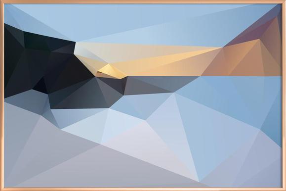 SUNRISE TAMARAMA 2013 -Poster im Alurahmen