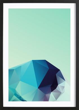 Geometric 2 Framed Print