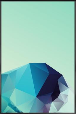 Geometric 2 Framed Poster