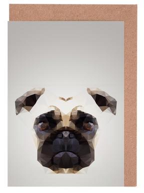 Pug 2014 Greeting Card Set